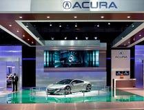 Acura NSX Konzept-Bildschirmanzeige Stockbilder