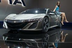 Acura NSX Mischling-Konzept lizenzfreie stockfotografie