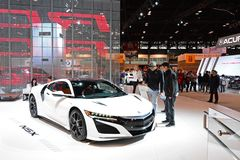 2019 Acura NSX Sports Car Stock Images