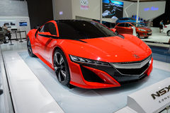 Acura NSX, voiture de concept, 2014 CDMS Photo stock