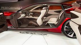 Acura-Präzisions-Konzept Stockbilder