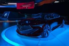 Acura-Präzisions-Konzept auf Anzeige Lizenzfreie Stockfotos