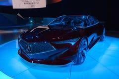 Acura-Präzisions-Konzept auf Anzeige Lizenzfreies Stockbild