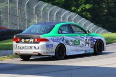 Acura racing Stock Photo