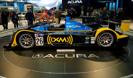 Acura Rennwagen Lizenzfreies Stockbild