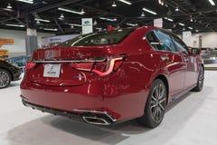 Acura RLX auf Anzeige Lizenzfreie Stockfotografie