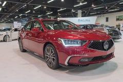 Acura RLX auf Anzeige Lizenzfreie Stockfotos