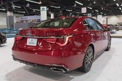 Acura RLX auf Anzeige Lizenzfreies Stockfoto