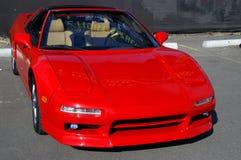 Acura rouge NSX Images libres de droits