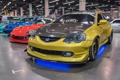 Acura RSX auf Anzeige Stockfotografie