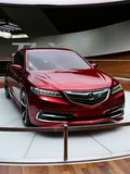 Acura sedan at the NAIAS Stock Image