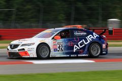 Acura sports racing Royalty Free Stock Image