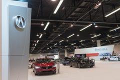 Acura-Stand auf Anzeige Lizenzfreie Stockfotografie