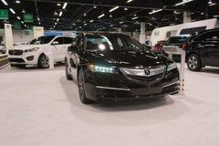 Acura Telex auf Anzeige Stockfotos