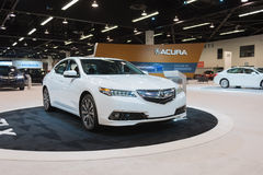 Acura Telex auf Anzeige Lizenzfreie Stockfotos