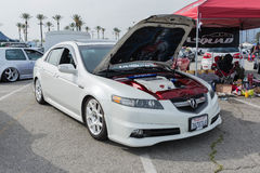 Acura TL на дисплее Стоковая Фотография