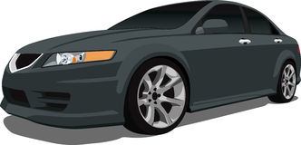 Acura TL Sedan. A Vector .eps illustration of an Acura TL. Saved in layers for easy editing. See my portfolio for more automotive images vector illustration