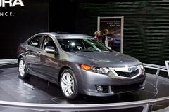 Acura TSX Royalty Free Stock Images