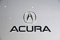 Acura Zeichen Stockbild