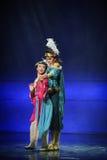 Acurruquese-Hui la luna del ballet sobre Helan Imagenes de archivo