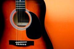 Acustic-Gitarre Lizenzfreie Stockbilder
