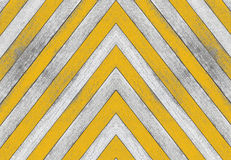 Acute angle, old white and yellow wood texture Royalty Free Stock Photography