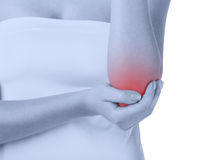 Acute pain Stock Image