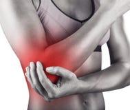 Acute pain Royalty Free Stock Image