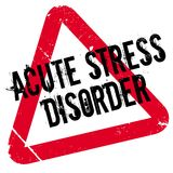 Acute Stress Disorder rubber stamp Stock Photo