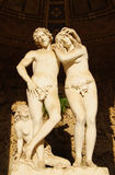 Adán y Eva imagen de archivo