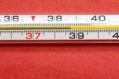Ad alta temperatura Fotografia Stock Libera da Diritti