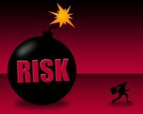 Ad alto rischio illustrazione di stock