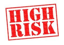 Ad alto rischio fotografie stock libere da diritti