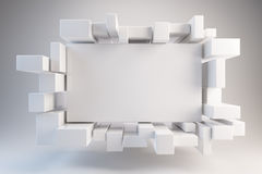 Ad board Stock Image