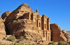 Ad Deir The Monastery Royalty Free Stock Photos