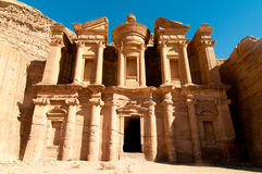 Ad Deir, The Monastery Temple, Petra, Jordan Stock Image