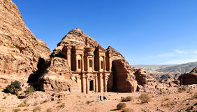 Ad Deir, The Monastery Temple, Petra, Jordan Stock Photo