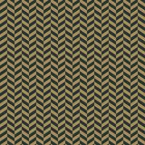 Art Deco Seamless Pattern. Repeating pattern design with art deco motif in anthracite and vintage gold royalty free illustration