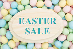 An ad for an Easter sale Stock Photo