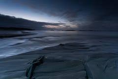 Ad ovest del tramonto 3 dell'Irlanda Fotografia Stock