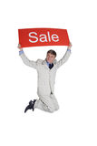 Ad Sale Royalty Free Stock Photo