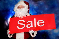Ad santa Royalty Free Stock Photos
