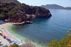 Ada Beach of Kaş, Turkey Stock Photo