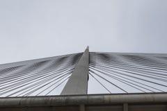 Ada-Brücke in Belgrad Lizenzfreies Stockbild