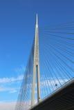 Ada Bridge Belgrade Stockfotos