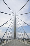 Ada bridge. Belgrade Royalty Free Stock Photos