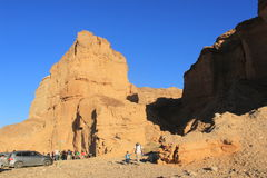 Ada Canyon along the Negev Trail in Israel Stock Image