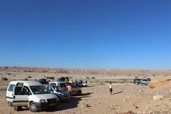 Ada Canyon entlang der Negev-Spur in Israel Stockfoto