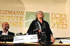 Ada Yonath Royalty Free Stock Photography