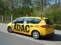 ADAC服务汽车 免版税库存照片